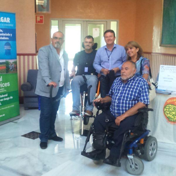 Amelgar en el 10º Congreso Andaluz de Voluntariado y Participación.