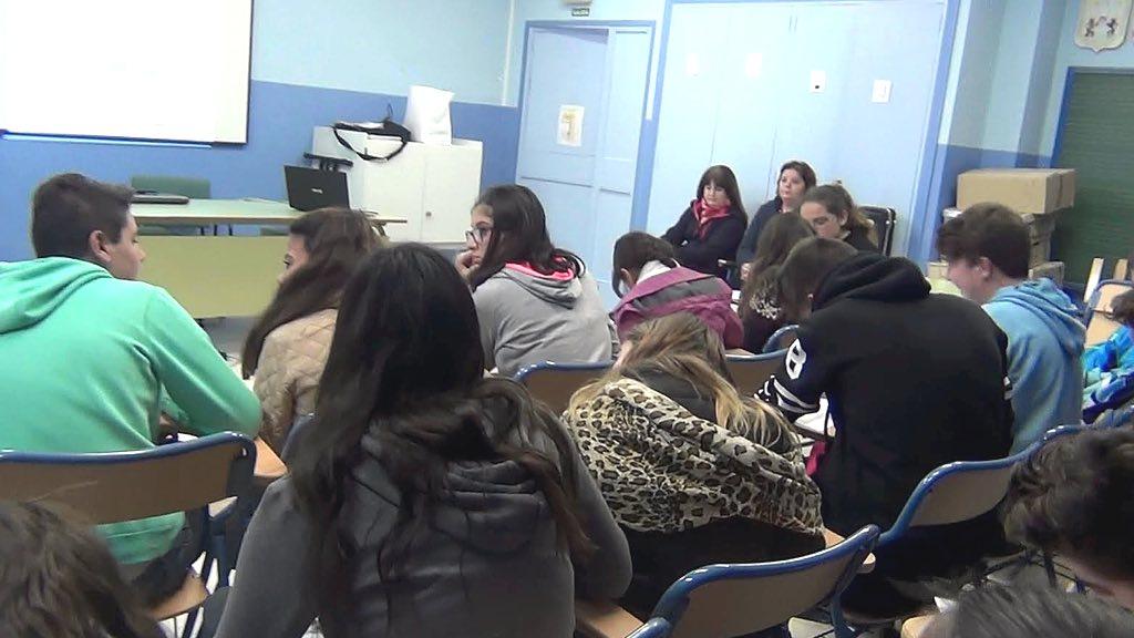 Alumnos del Colegio Carmen Arévalo (Villafranco del Guadalhorce).