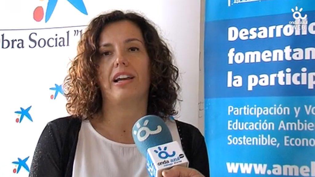 Responsable Obra Social La Caixa y Onda Azul Málaga Rtv.
