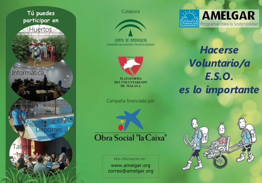 Nuevo folleto de la Campaña de Sensibilización hacia el Voluntariado