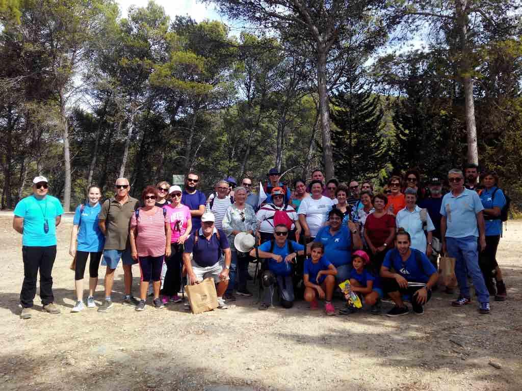 Ruta Poco Pan Montes de Málaga con la Obra Social la Caixa