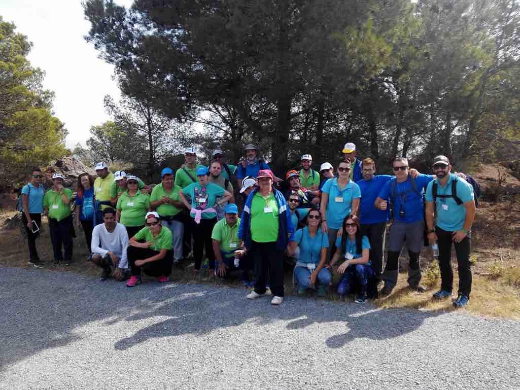 Rutas por la Gran Senda de Málaga con ASPROVELEZ y PRODICCO