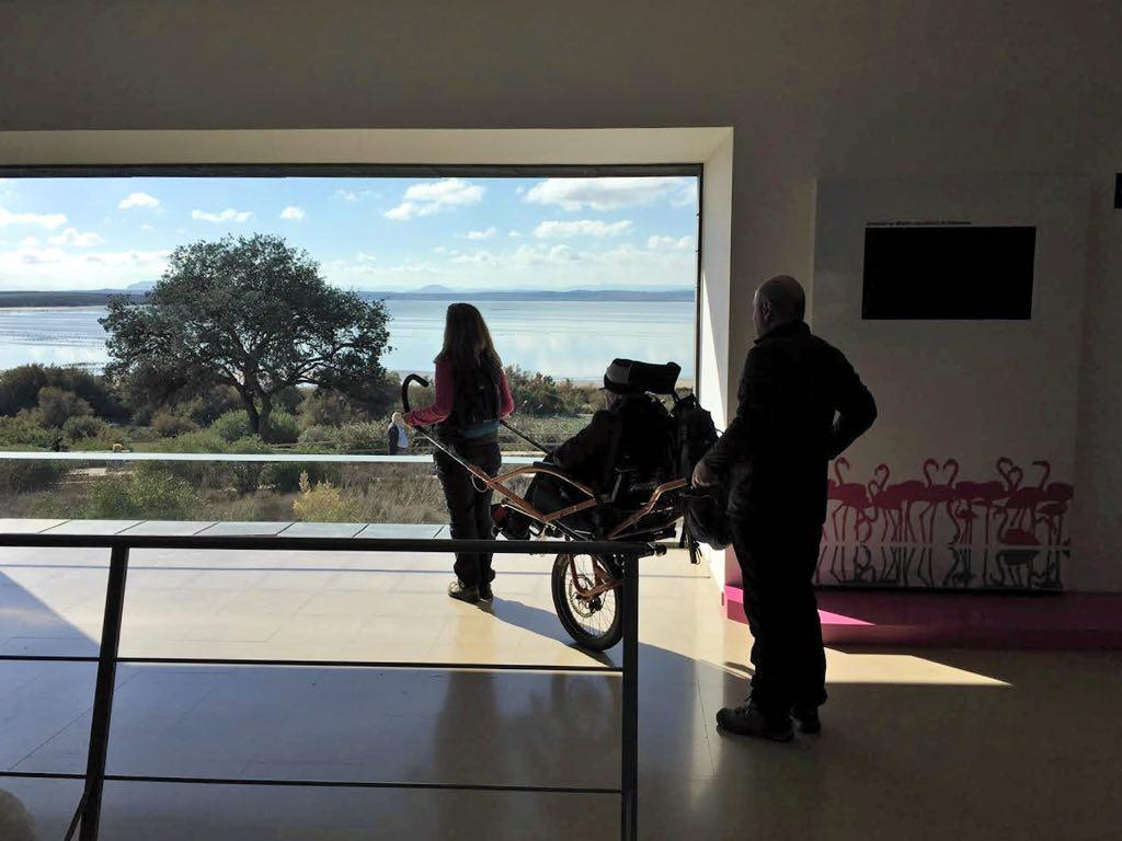 Ruta Laguna de Fuente de Piedra con la Asociación de Familiares de Alzheimer de Coín