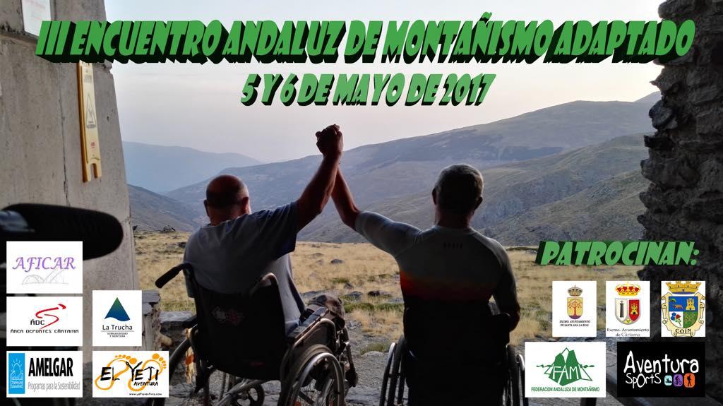III Encuentro Andaluz de Montañismo Adaptado