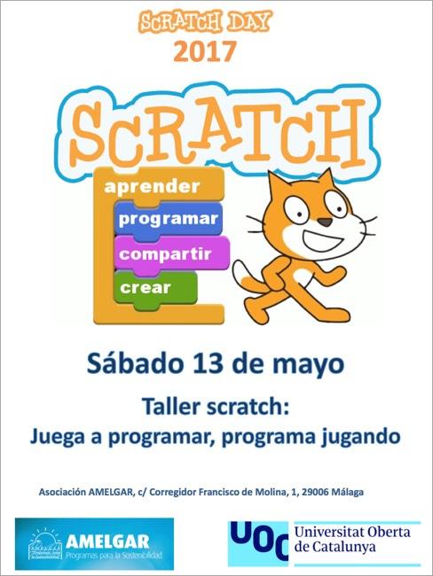 El sábado 13 de mayo celebramos el Scratch Day
